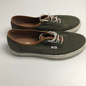 Vans Off The Wall Sneakers Green Mens 12 Shoes